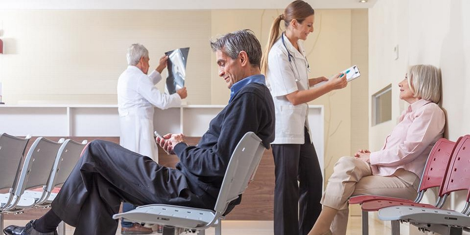 patient wait times and satisfaction
